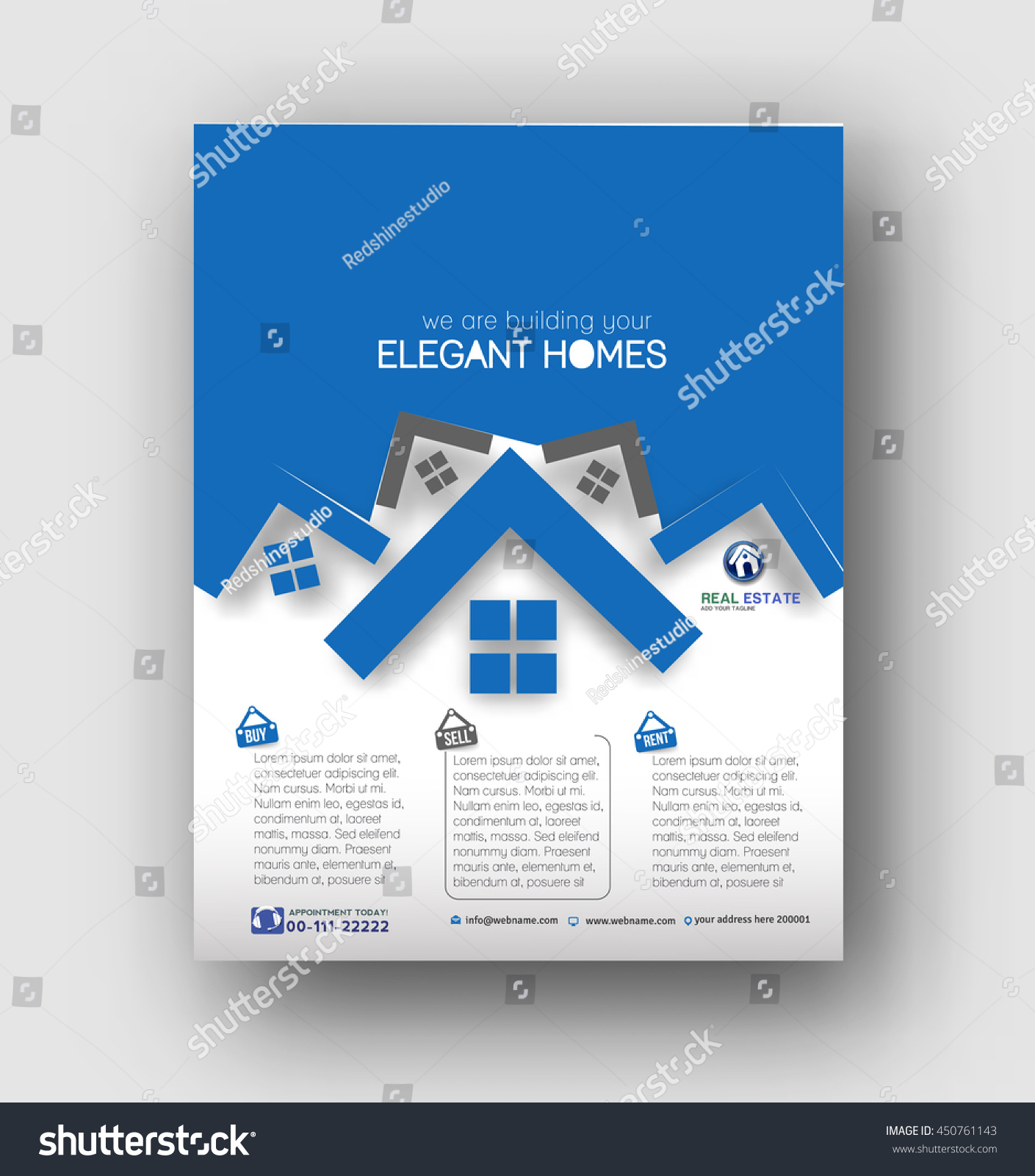 real estate agent flyers