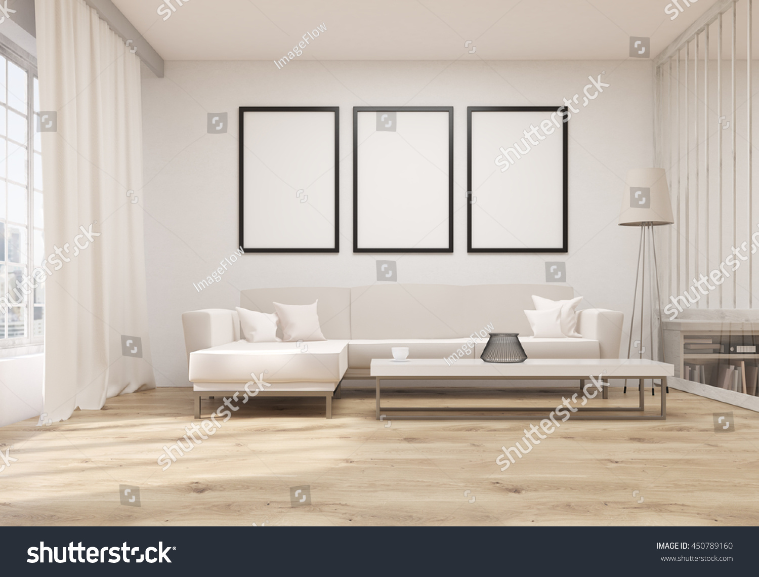 How to decorate living room with frames awesome home design for Front room ideas