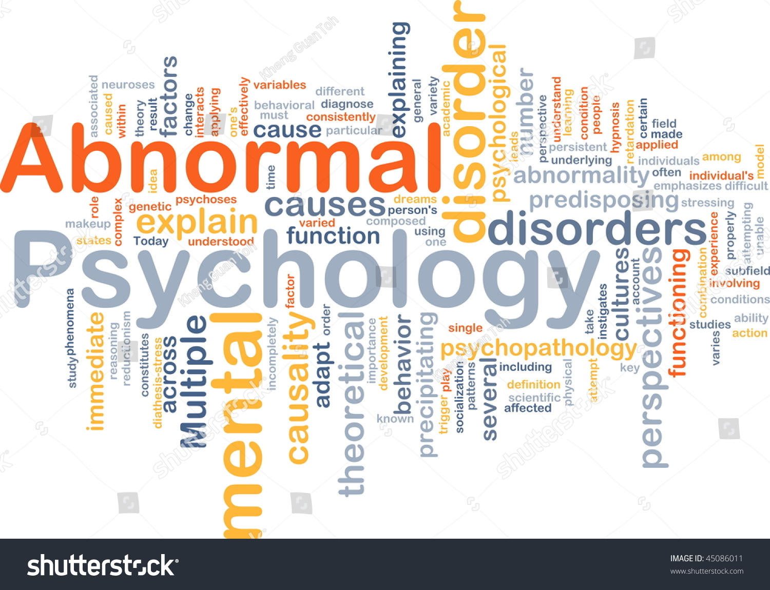 concept of abnormality The roots of mental illness how much of mental illness can the biology of the brain explain by kirsten weir  june 2012, vol 43, no 6.