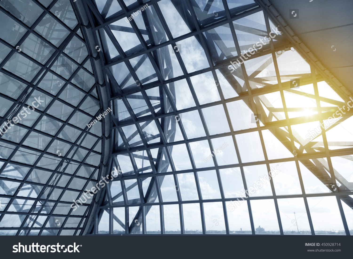 Skylight Window Abstract Architectural Background