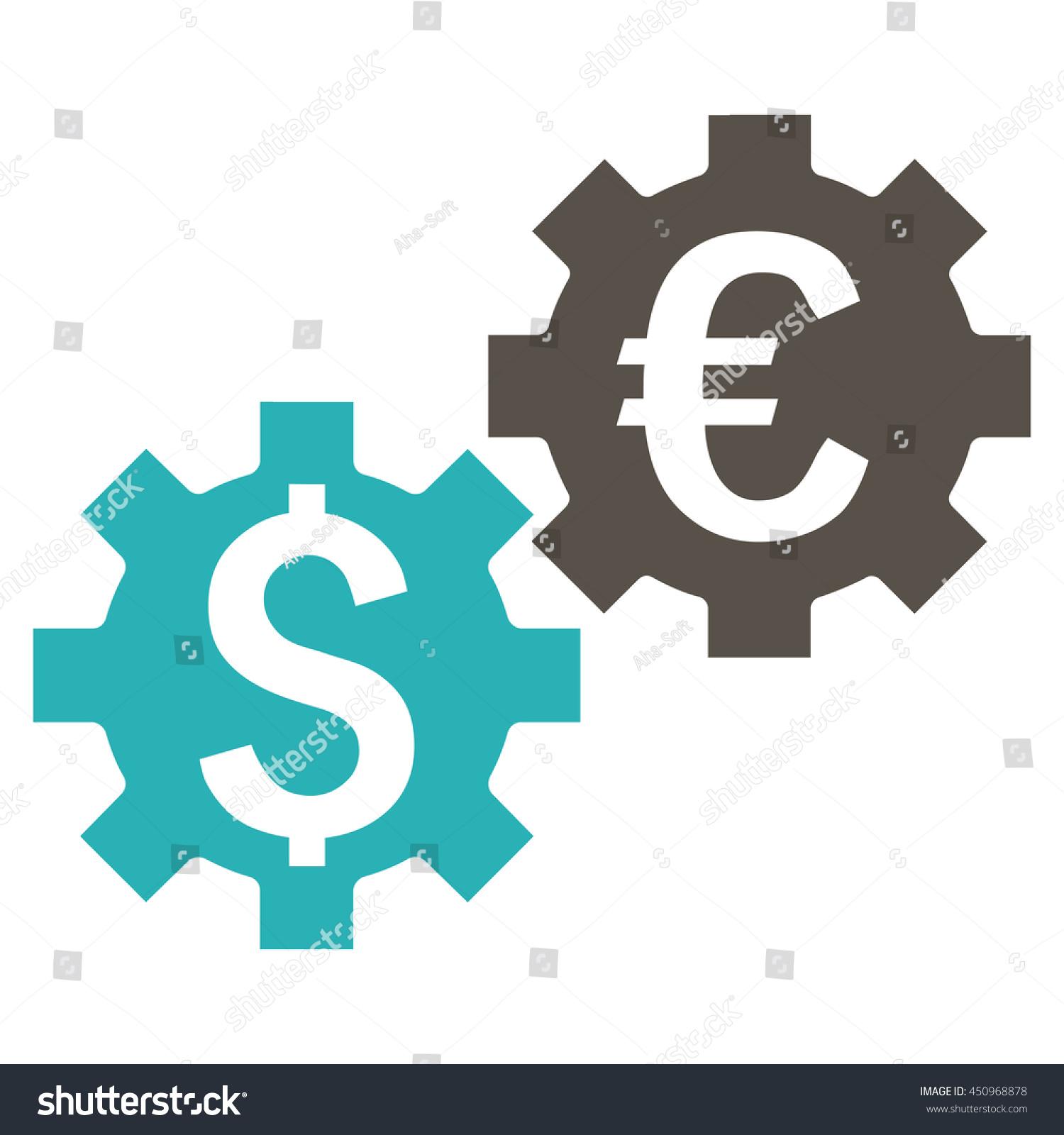 Financial Mechanics Vector Icon Style Bicolor Stock Vector 450968878 ...