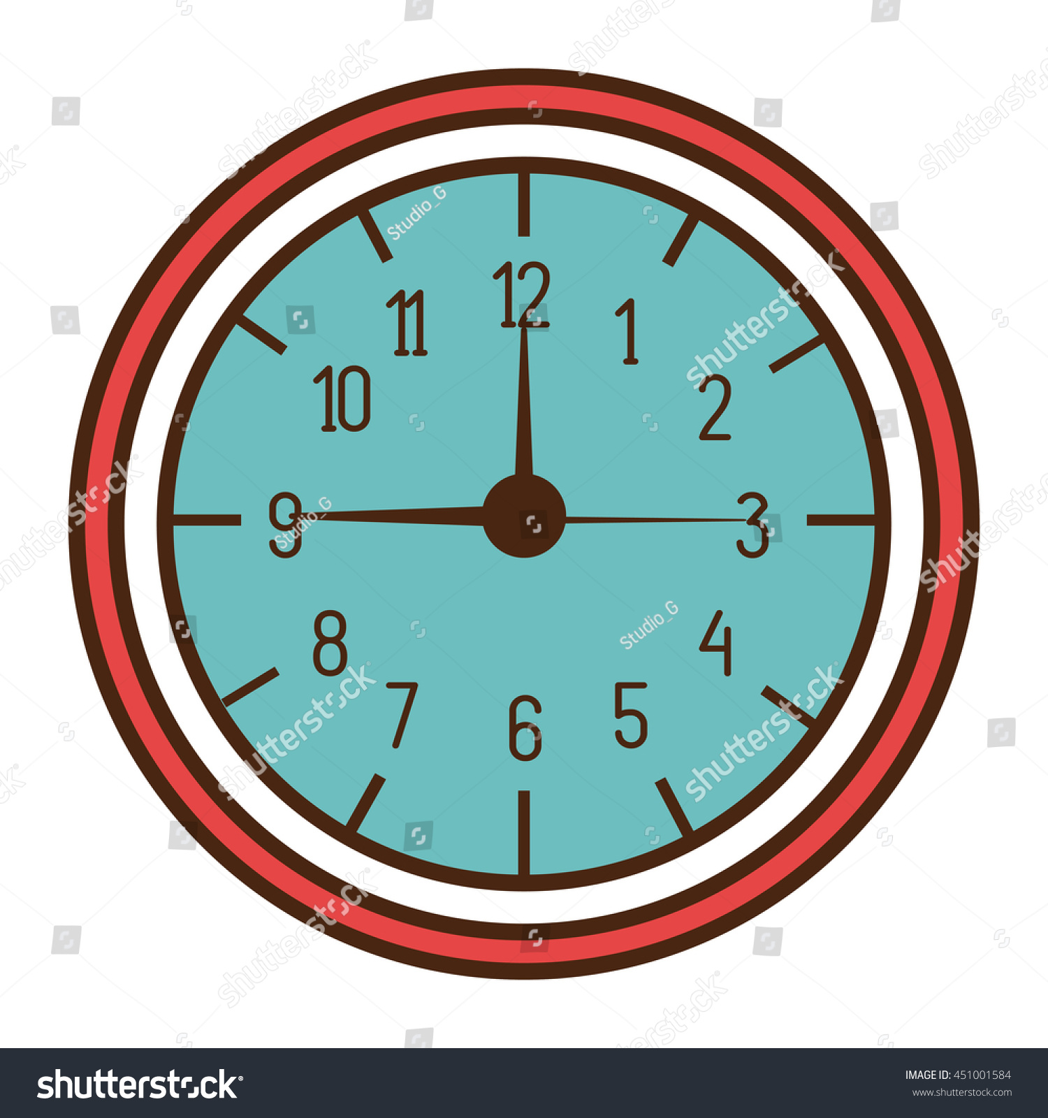 Vector wall clock gallery home wall decoration ideas wall clock time image collections home wall decoration ideas wall clock time concept design vector stock amipublicfo Image collections