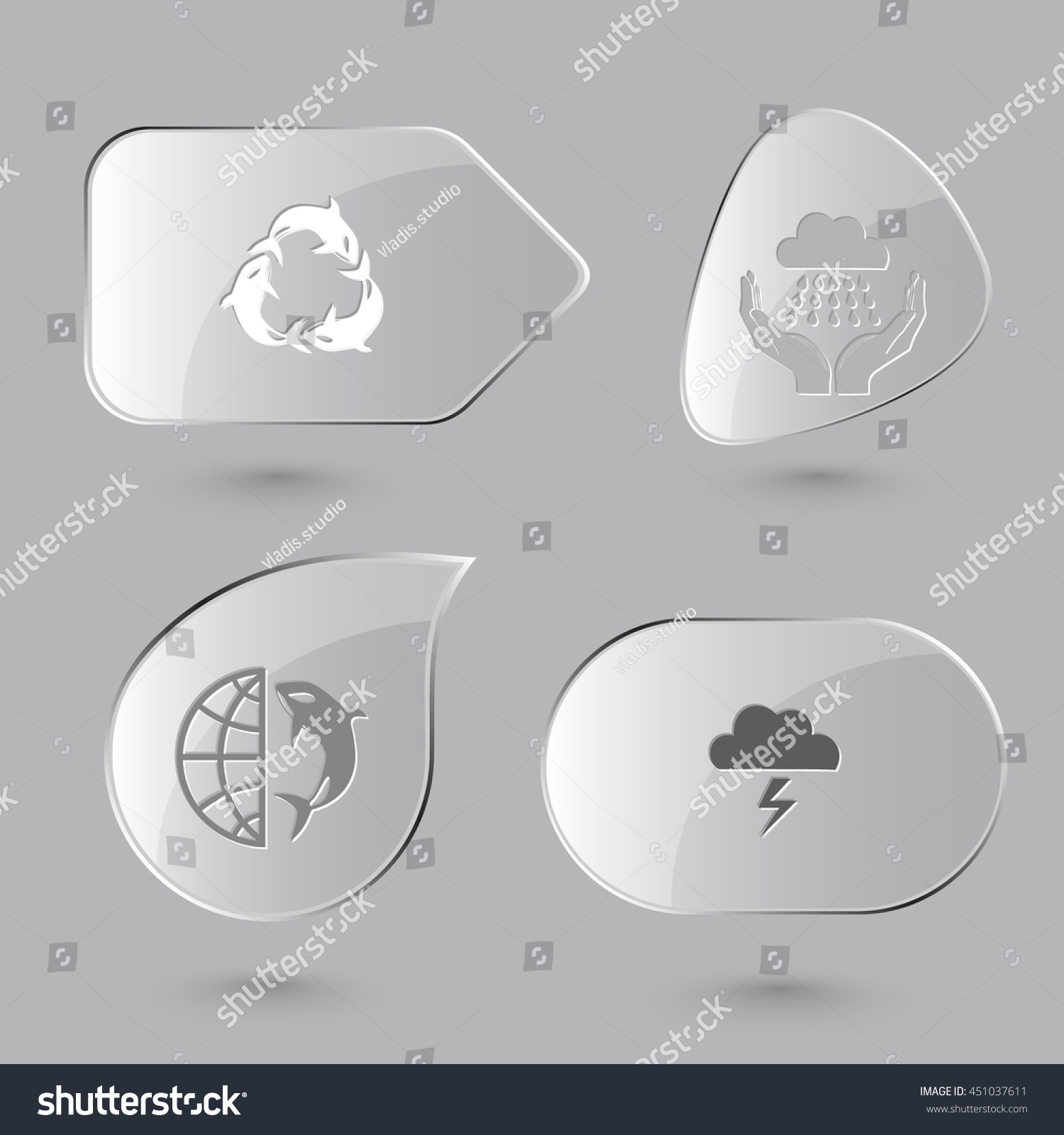 4 images killer whale recycling symbol stock vector 451037611 4 images killer whale as recycling symbol weather in hands globe and shamoo biocorpaavc Choice Image