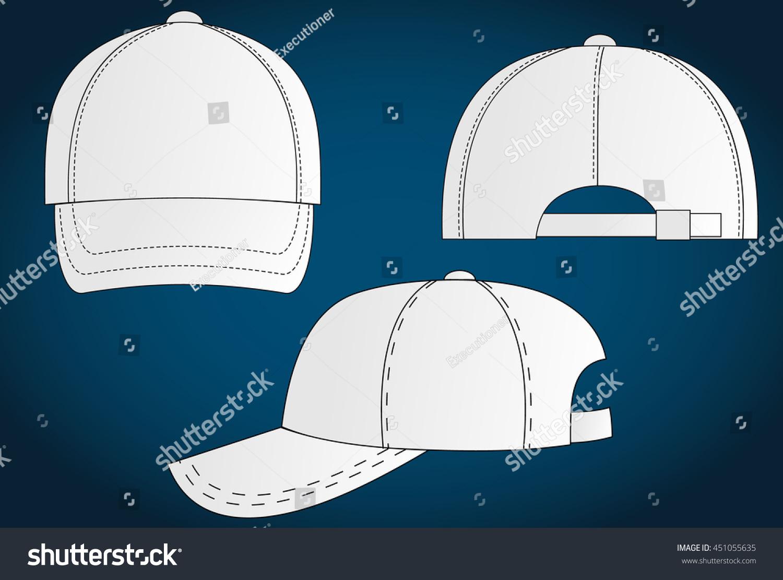 Baseball Helmet Side View