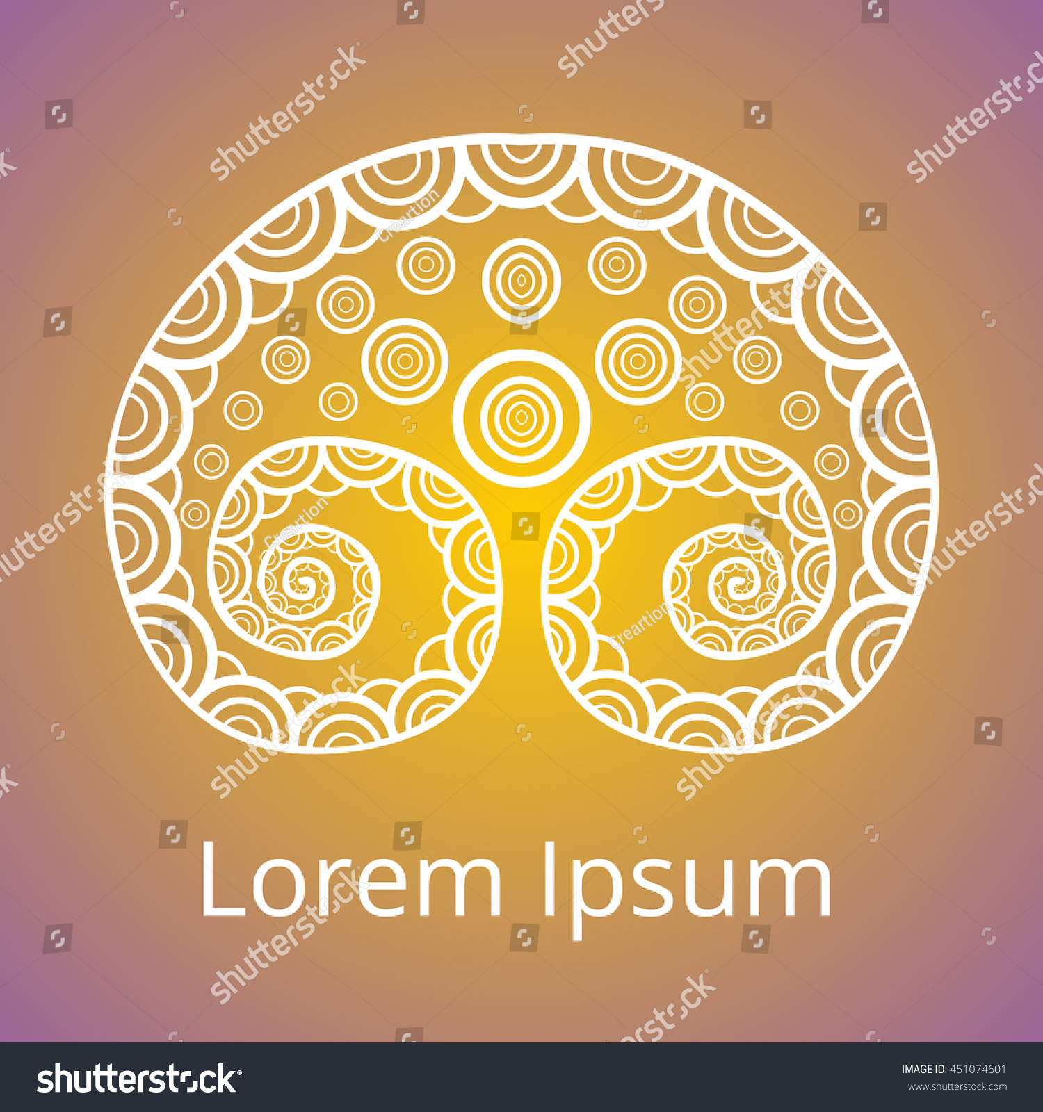 Illustration Ornament Decorative Celtic Tree Life Stock Vector ...