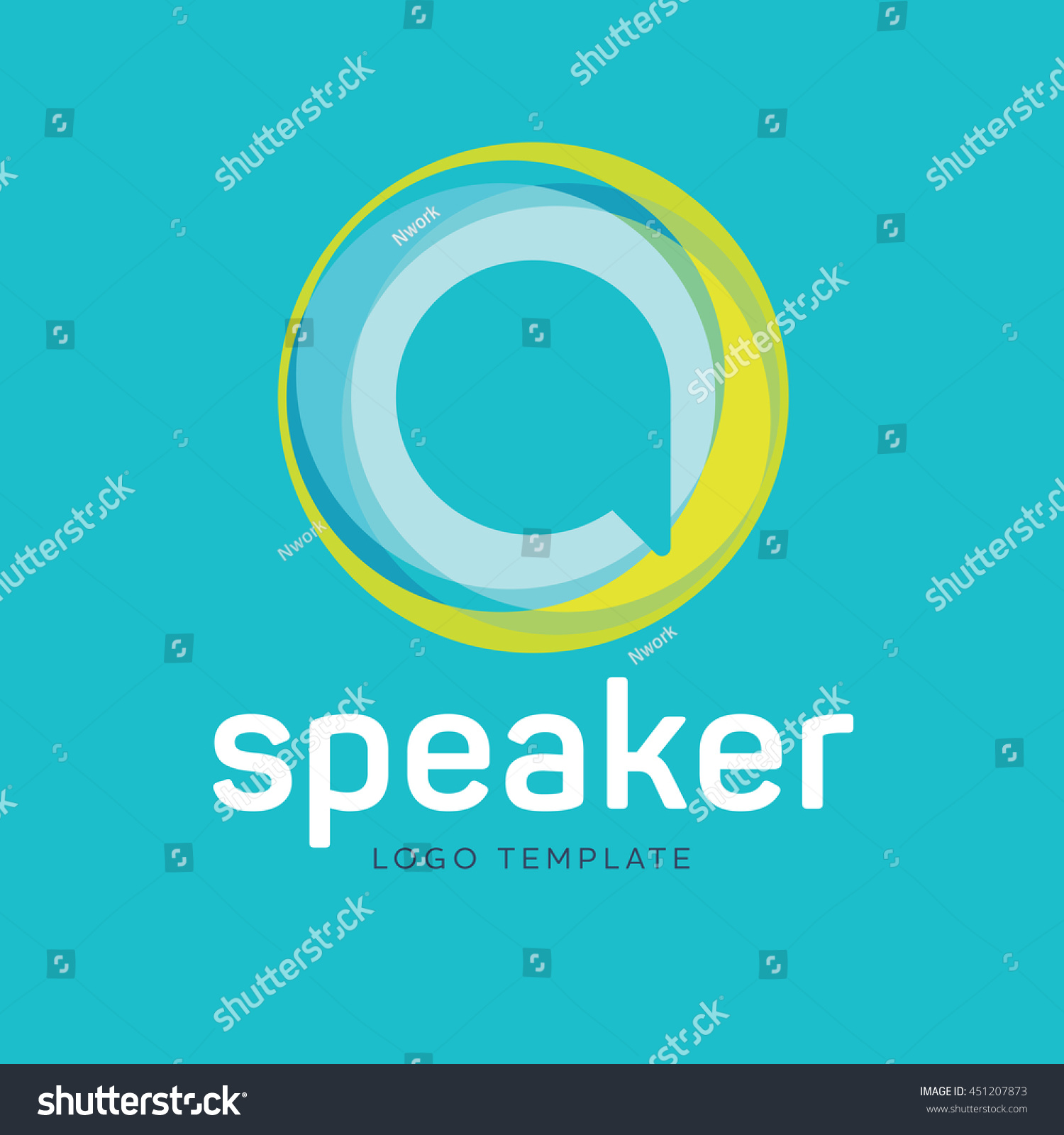 Creative Communication Logo Stock Vector (Royalty Free