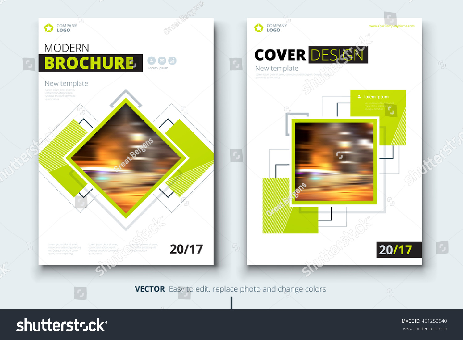 modern brochure template - catalog design corporate business template brochure stock