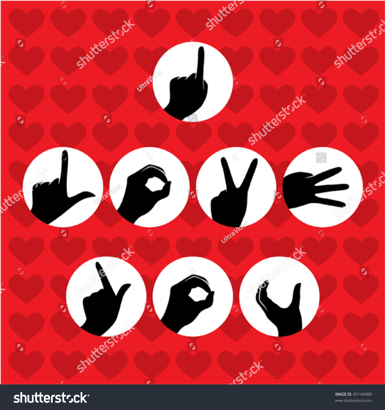 i love you poster stock vector royalty free 45144988 shutterstock