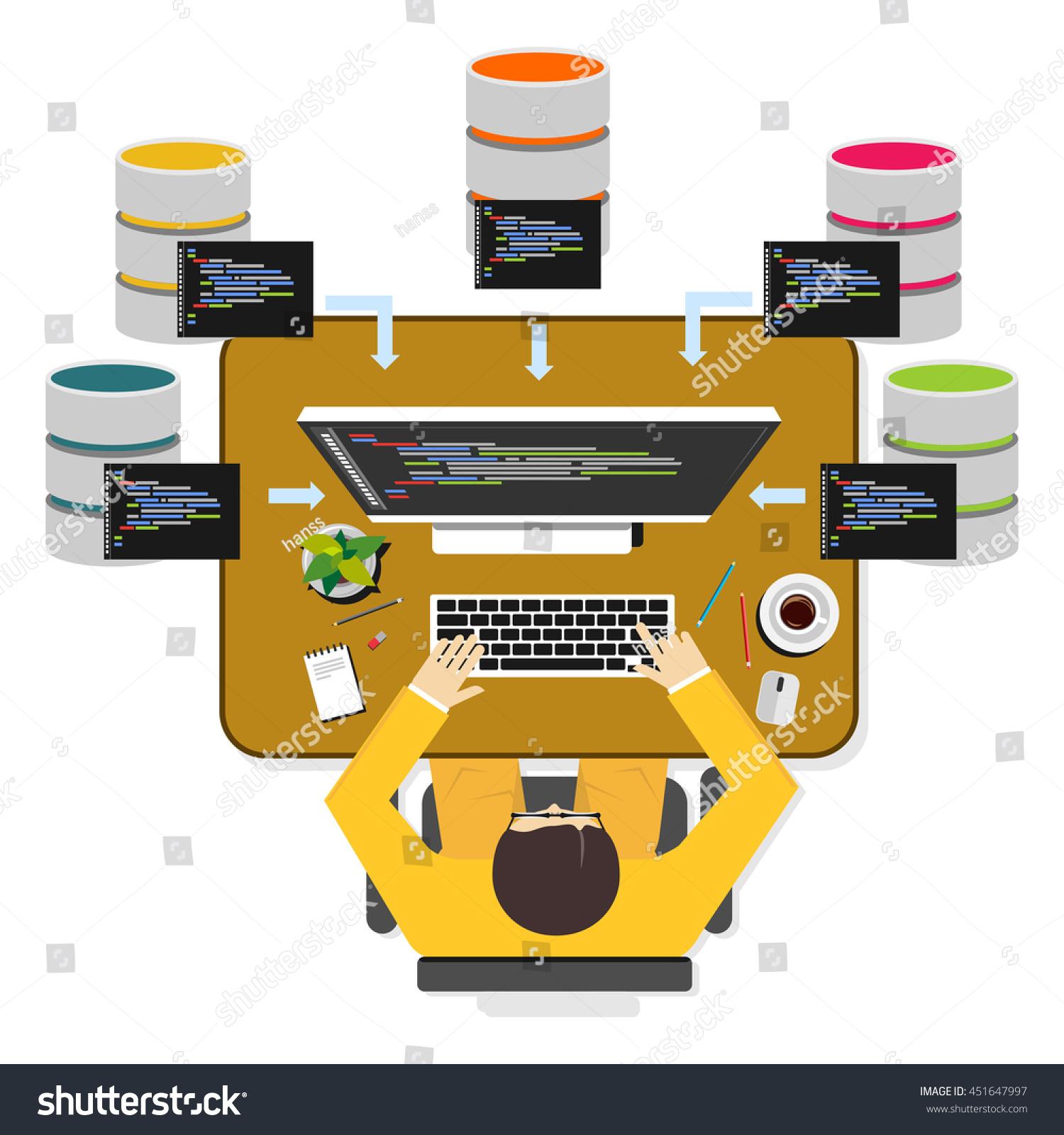 database programmer or database administrator working concept database programmer - Clinical Database Programmer