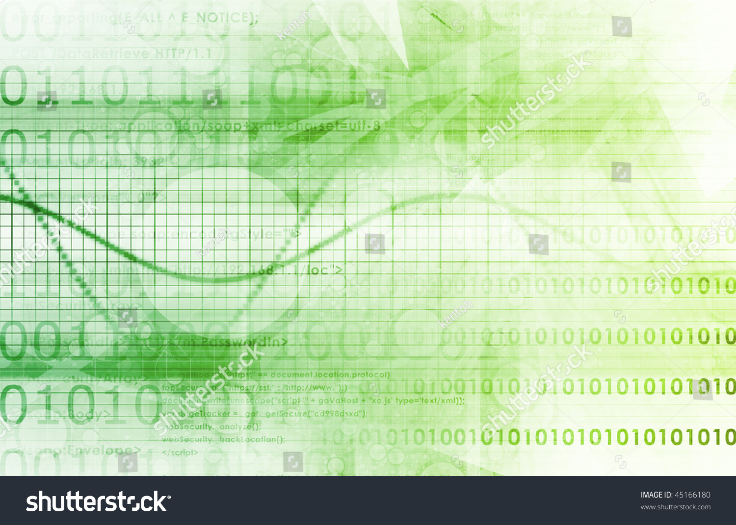 Online Security Internet Concept Background Stock Illustration 45166180