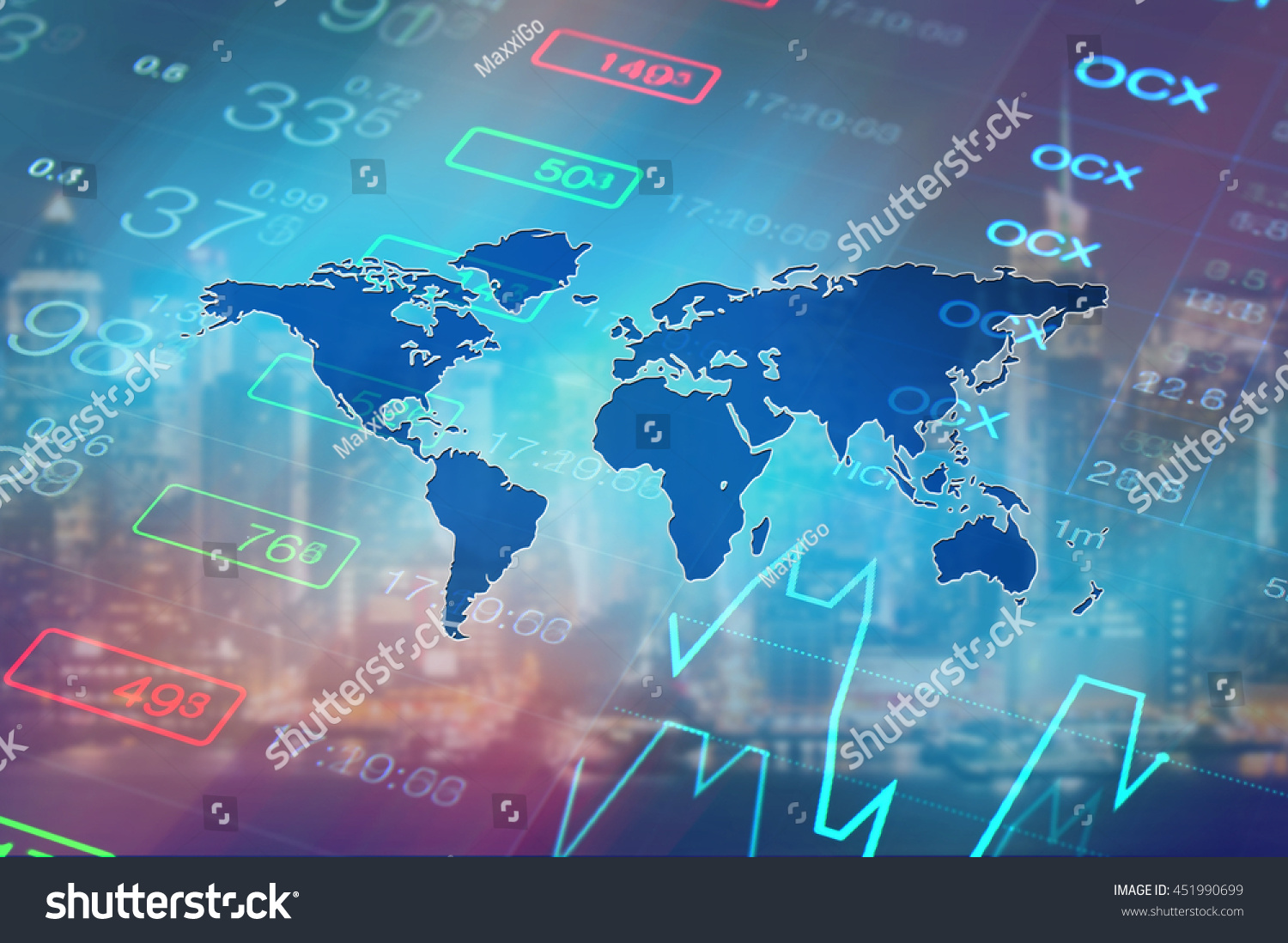 economy background abstract stock market graph stock photo (edit now
