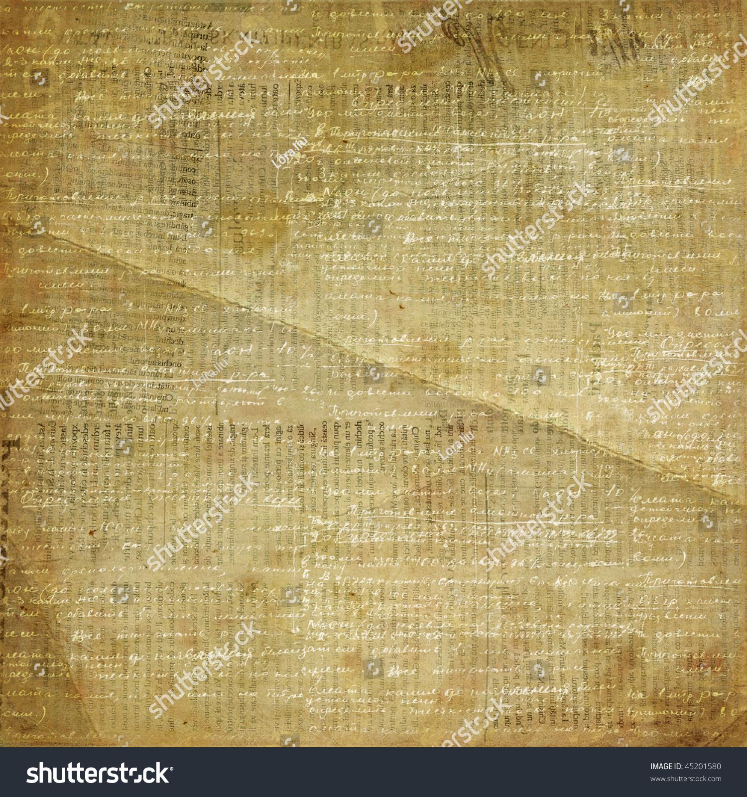 Vintage Newspaper Abstract Background Printed Text – Vintage Newspaper