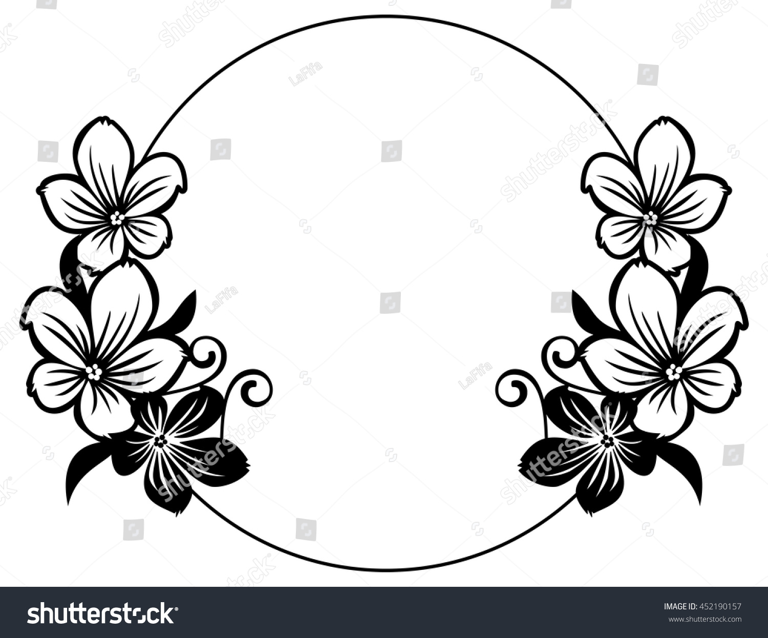 black and white abstract flower designs wwwimgkidcom