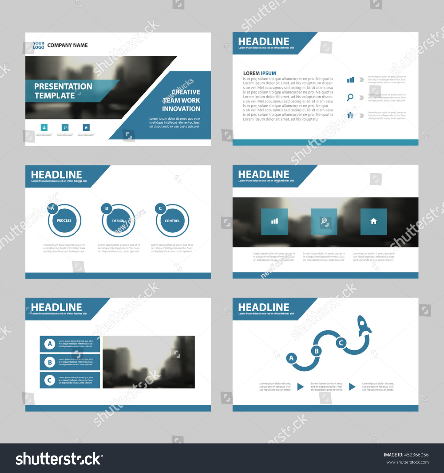 blue abstract presentation templates infographic elements blue abstract presentation templates infographic elements template flat design set for annual report brochure flyer