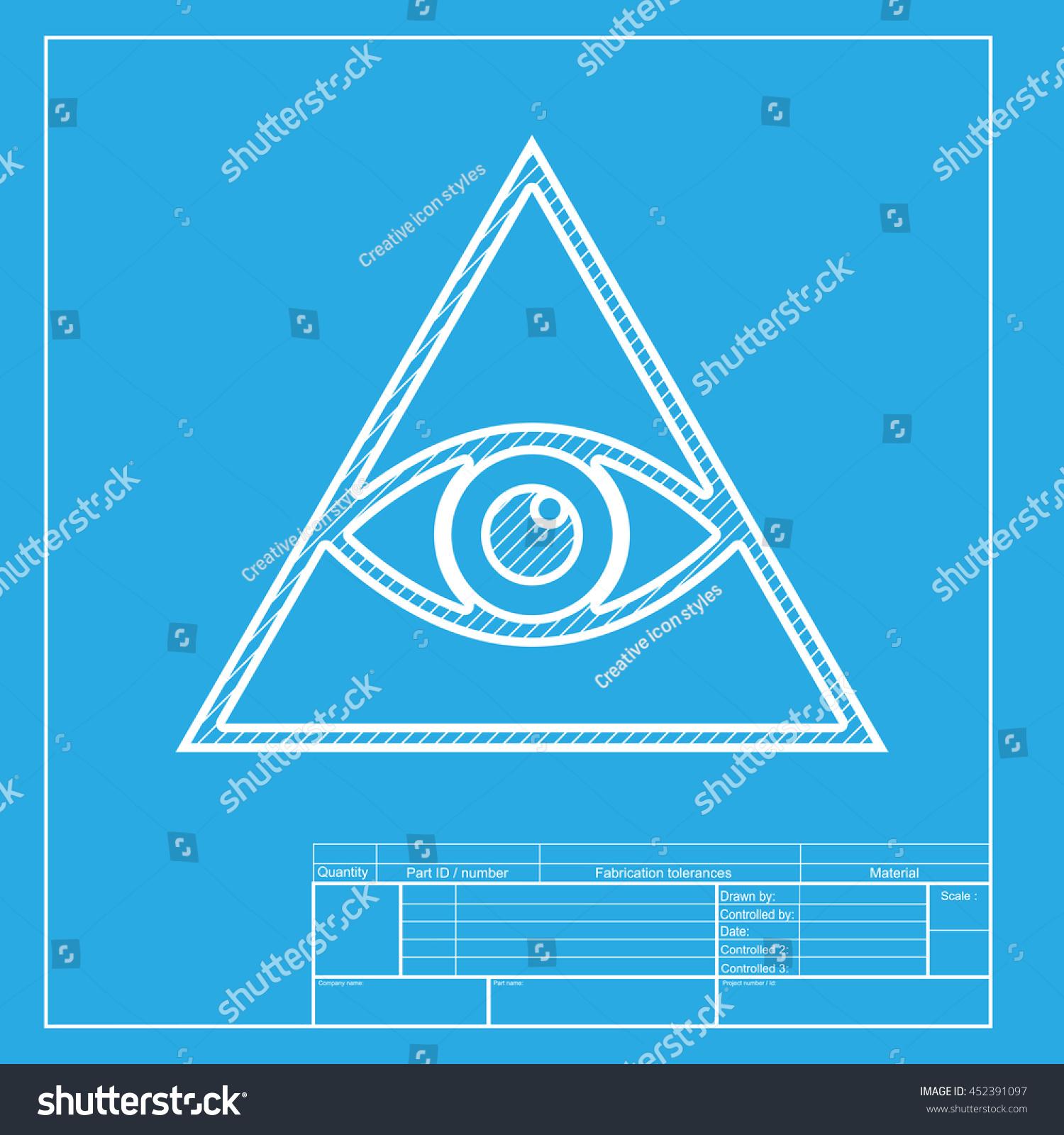 All seeing eye pyramid symbol freemason stock illustration all seeing eye pyramid symbol freemason stock illustration 452391097 shutterstock malvernweather Gallery