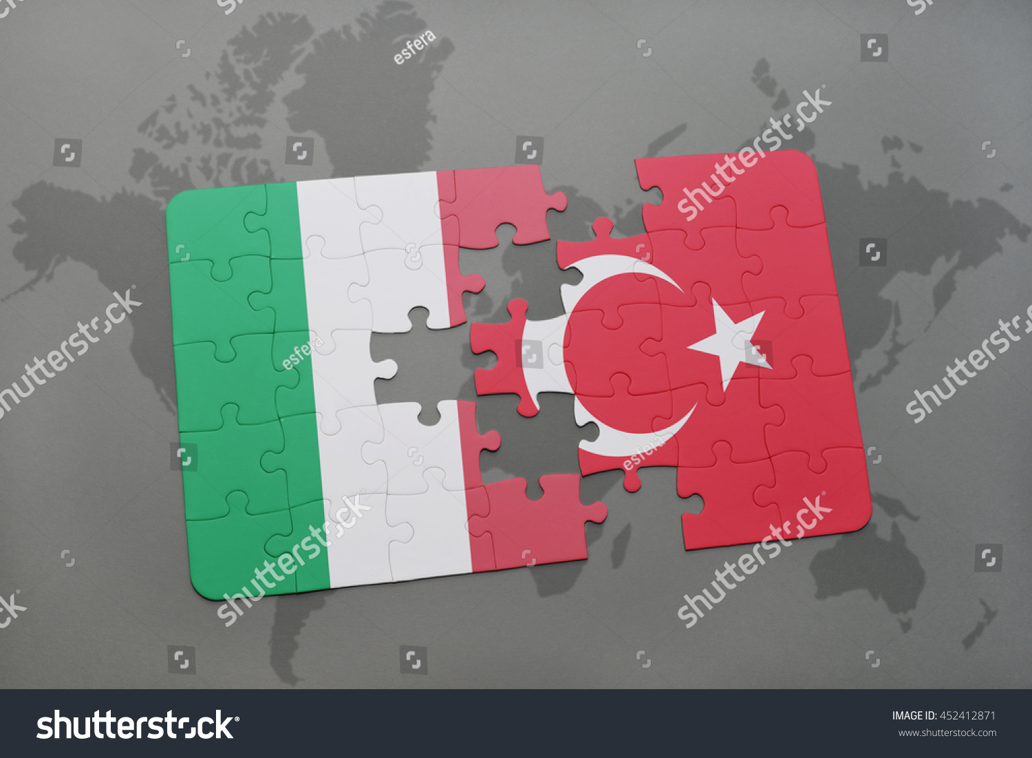 Puzzle national flag italy turkey on stock illustration 452412871 puzzle with the national flag of italy and turkey on a world map background 3d gumiabroncs Image collections