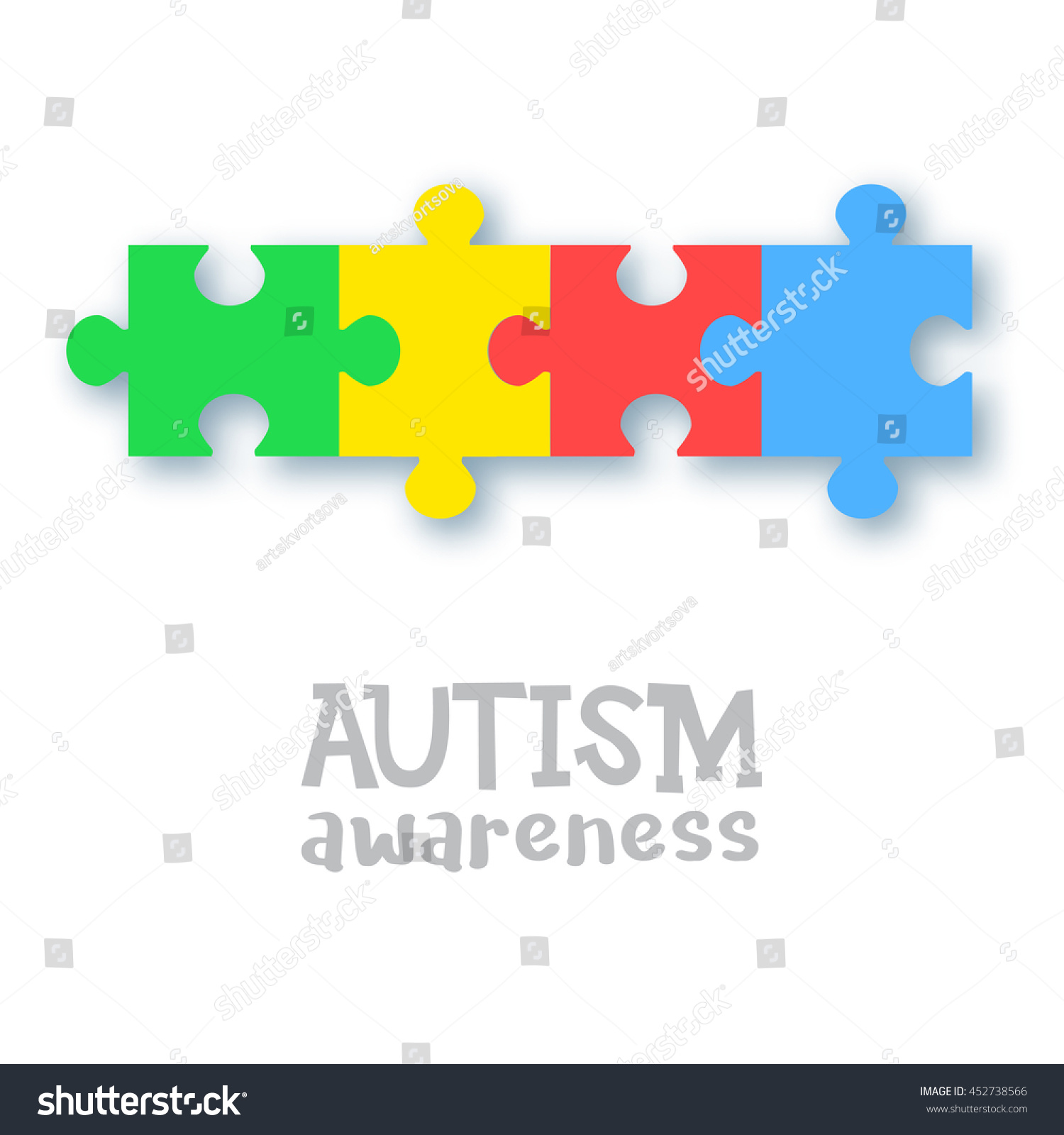 World autism awareness day colorful puzzle stock vector 452738566 world autism awareness day colorful puzzle vector design sign symbol of autism medical biocorpaavc