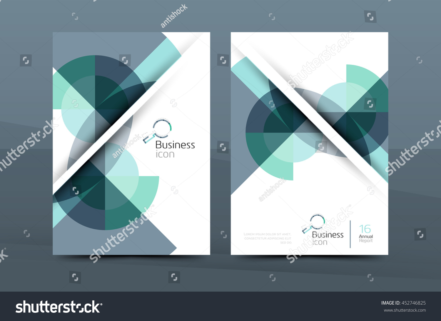 royalty design of annual report cover brochure 452746825 design of annual report cover brochure flyer template layout vector leaflet abstract background a4 size page stock vector