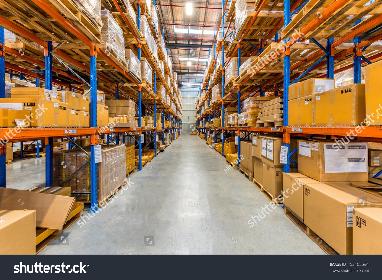 Melbourne Australia July 1st 2016interior Warehouse Stock