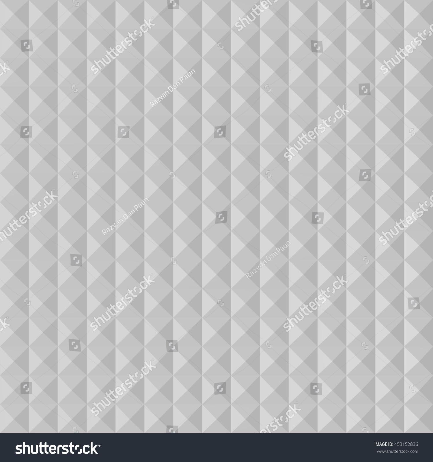 Flat Pyramid Pattern Seamless 3d Illustration Stock Illustration ...