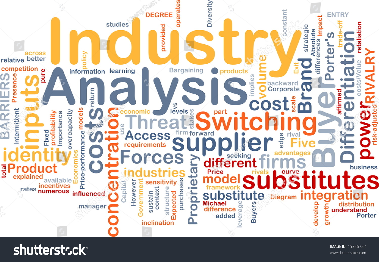 Background Concept Wordcloud Illustration Business Industry – Industry Analysis