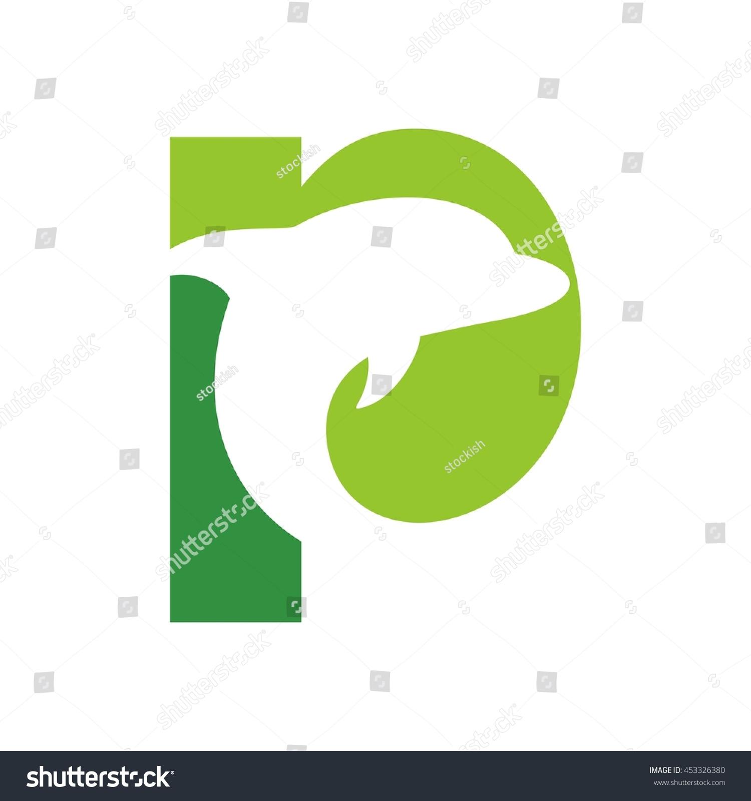 Dolphin Logo Vector Stock Vector 453326380 - Shutterstock