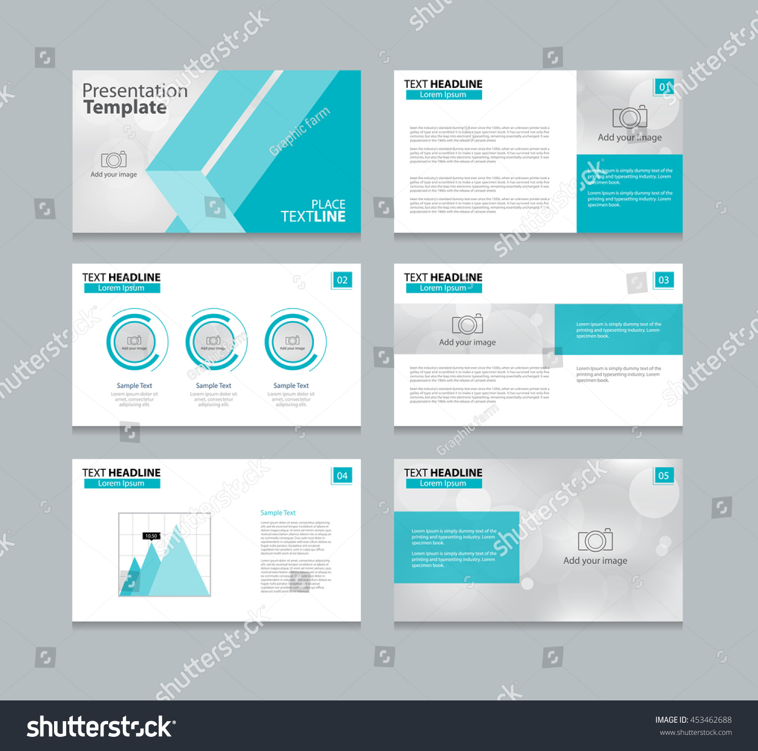 page layout design template presentation brochure stock vector 453462688 shutterstock. Black Bedroom Furniture Sets. Home Design Ideas
