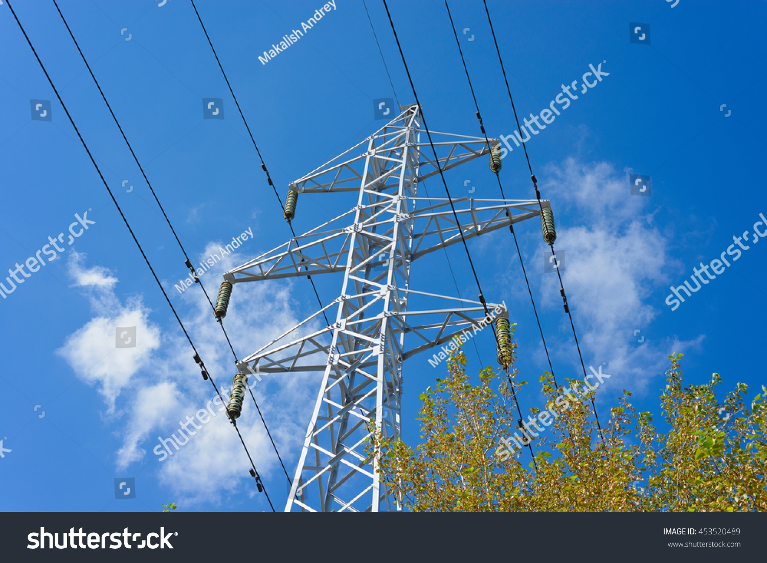 Fantastic Ground Wire Electrical Tower Off Images - Electrical ...