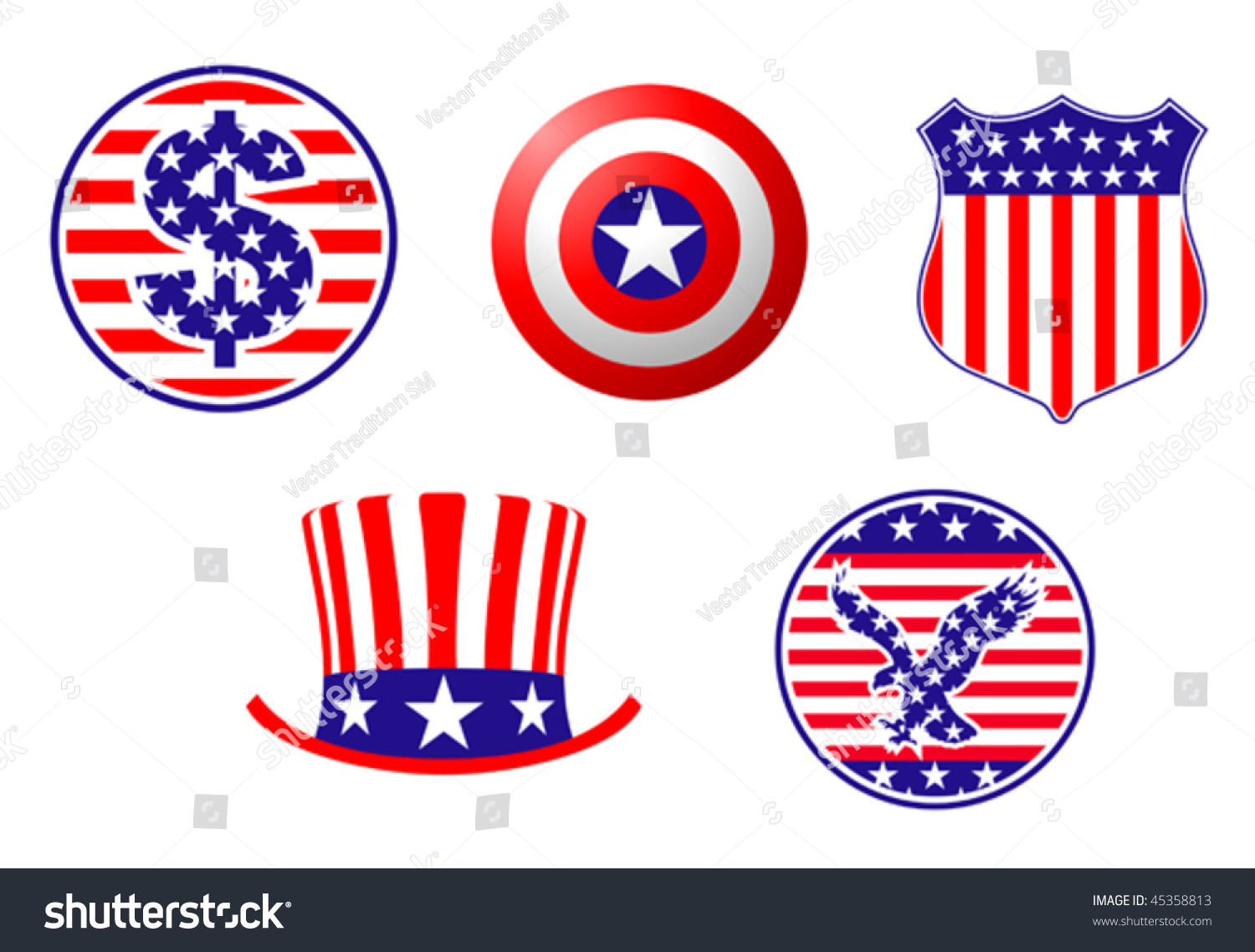 Watch more like American Symbols Clip Art
