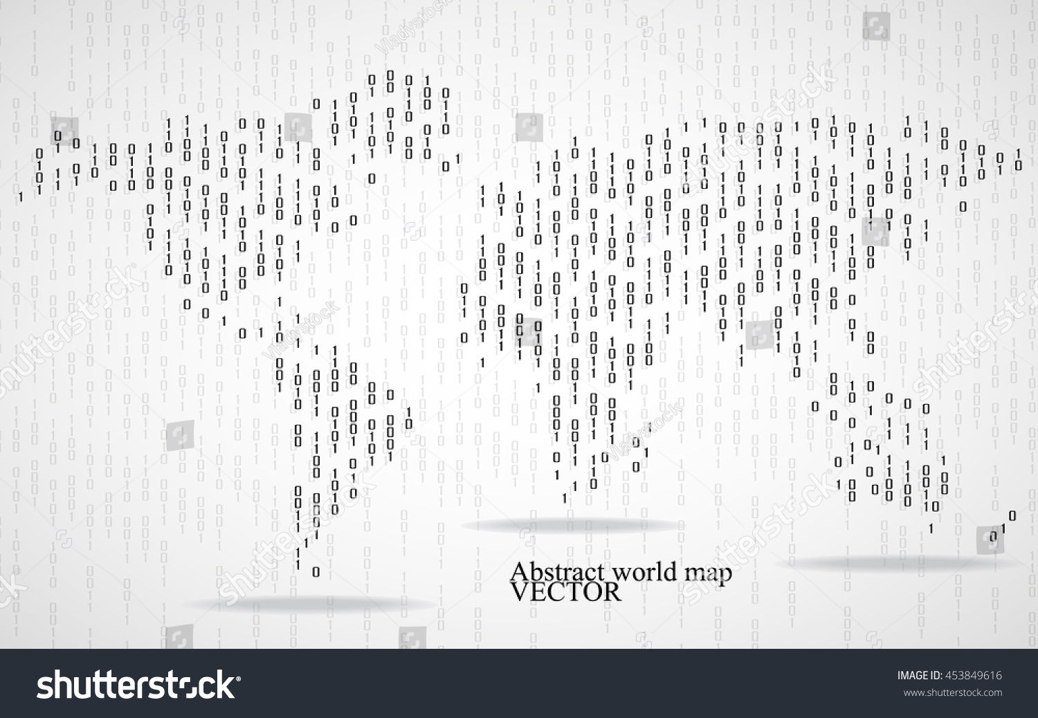 Abstract world map binary computer code stock vector 453849616 abstract world map binary computer code stock vector 453849616 shutterstock gumiabroncs Image collections
