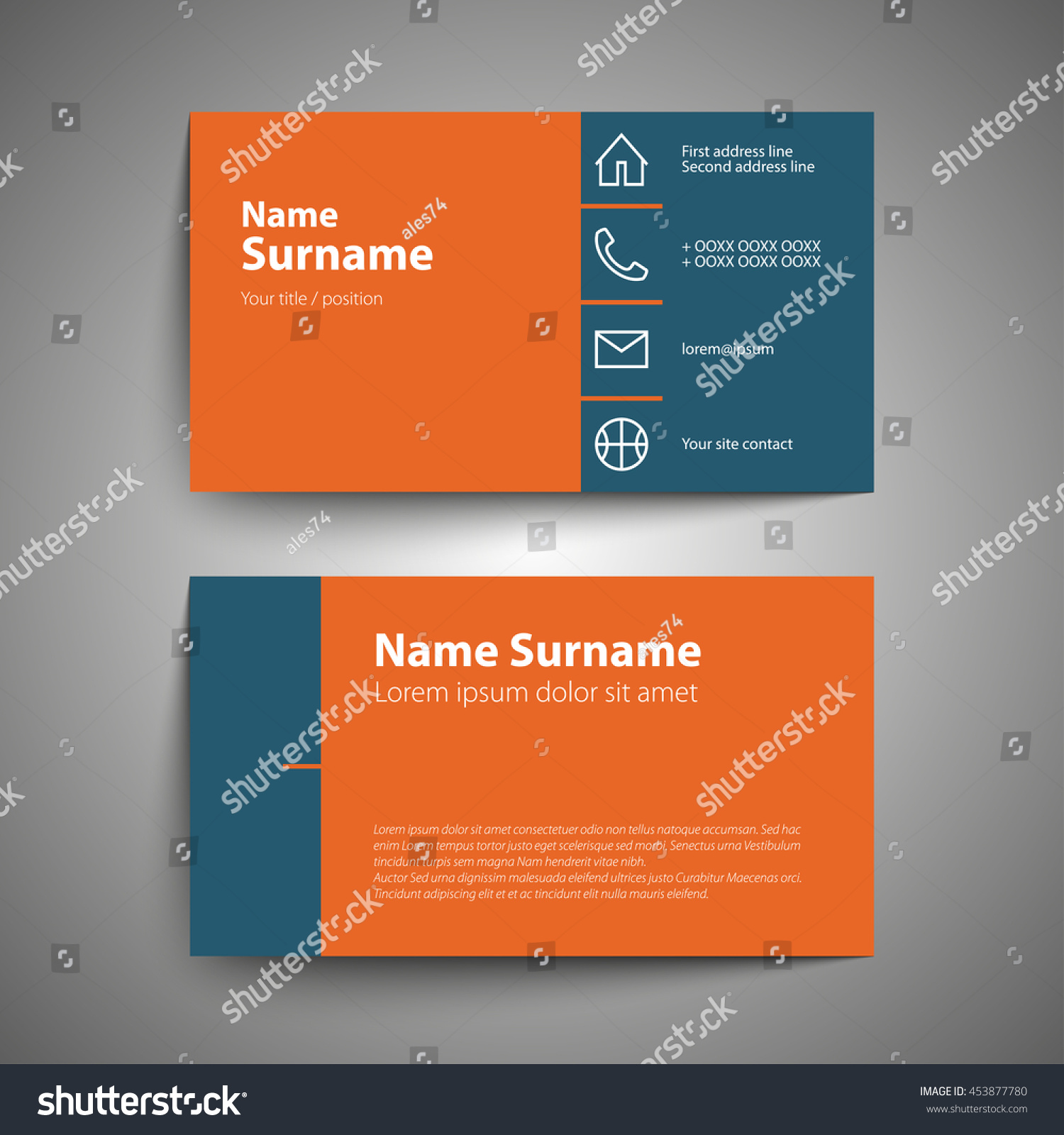 Beautiful Gallery Of Simple Business Cards - Business Cards and ...