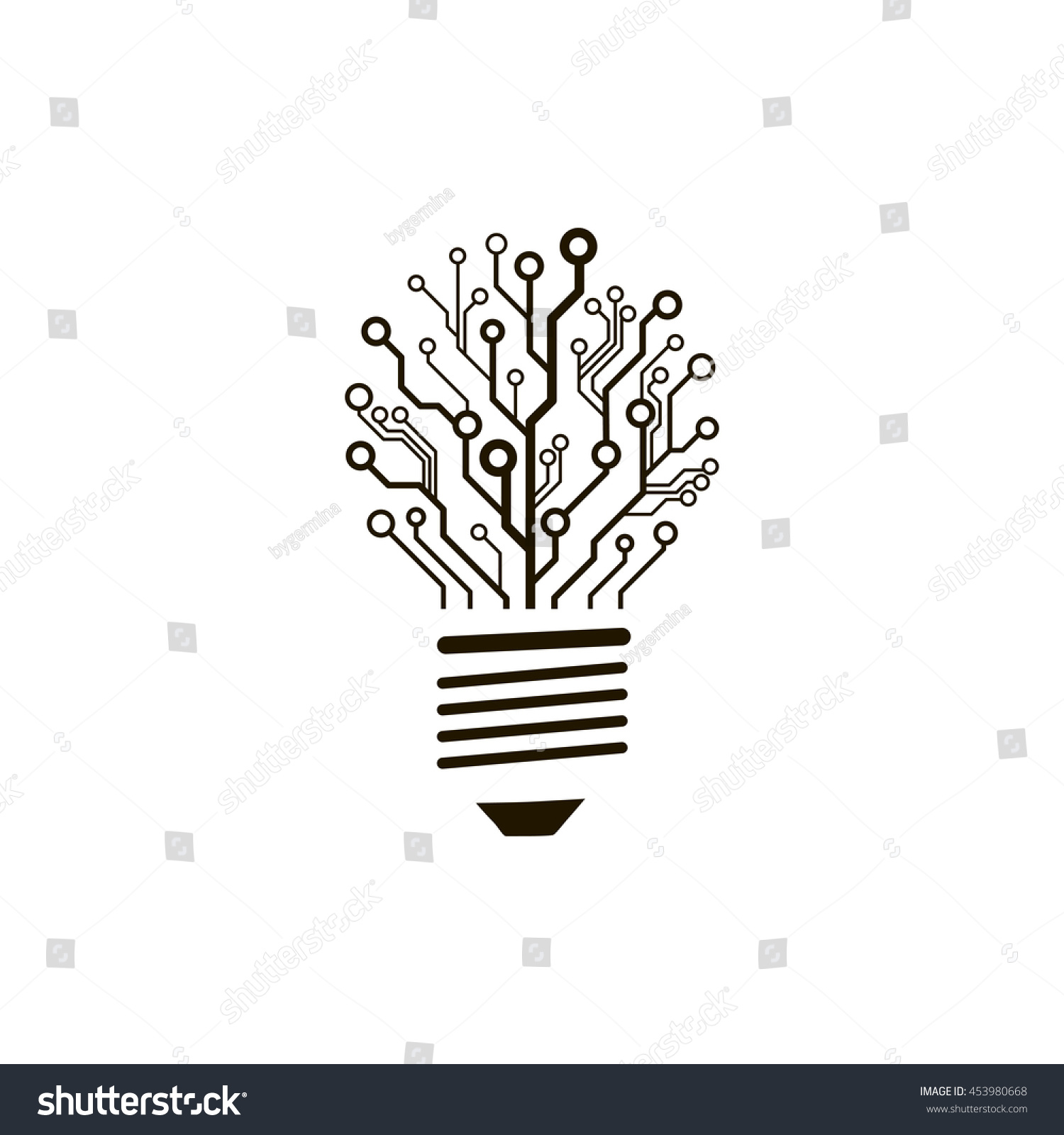 Royalty Free A Concept Of Information Technology 453980668 Stock Circuit Board Photo Hd Public Domain Pictures Logo Vector Bulb Creative Engineering Thinking Sign