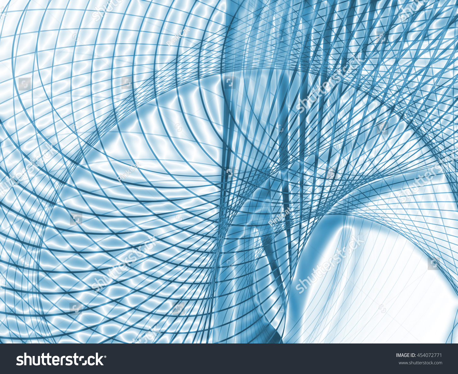 Math Lines Series Intricate Grid Pattern Stock Illustration ...