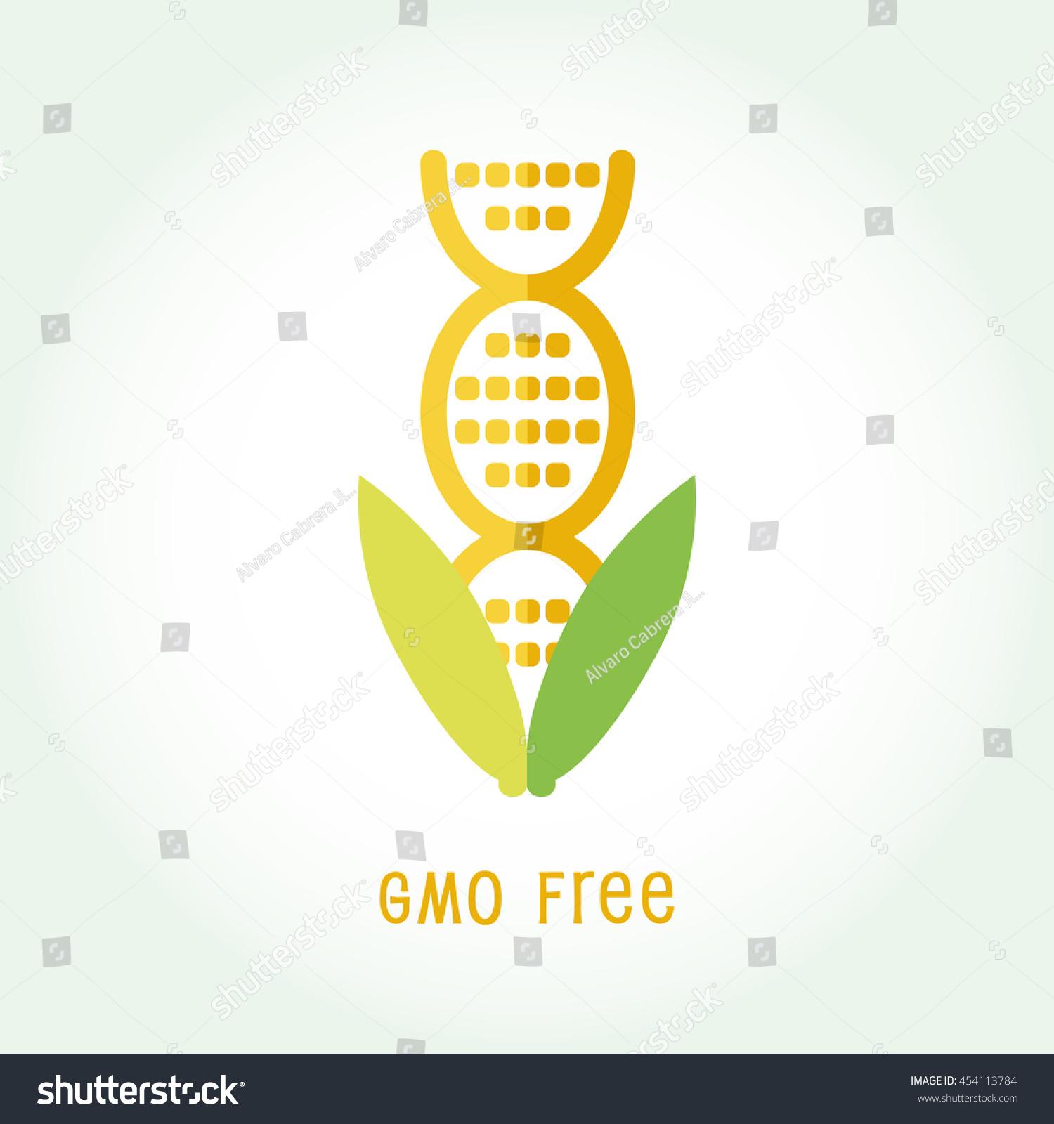 Gmo free icon symbol design non stock vector 454113784 shutterstock gmo free icon symbol design non genetically modified organism sign with cob corn vector illustration buycottarizona Images
