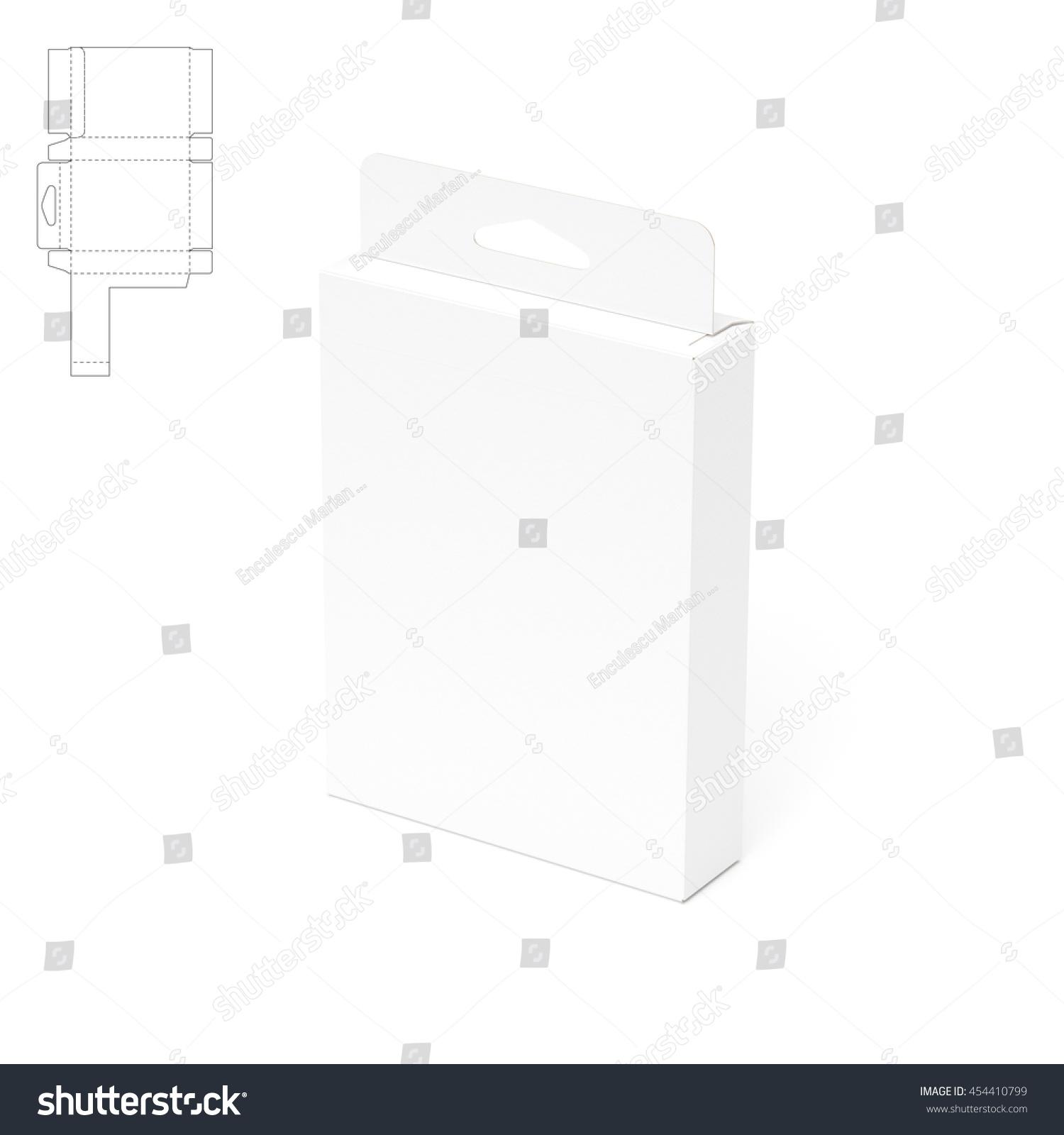 Tear off slim box blueprint 3 d stock illustration 454410799 tear off slim box with blueprint 3d rendering malvernweather Choice Image