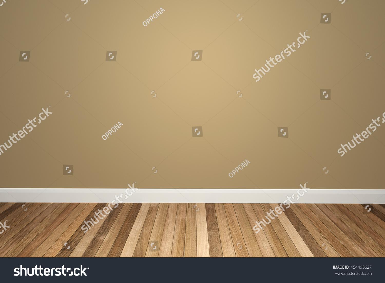 Empty room with wooden floor (3d rendering) | EZ Canvas