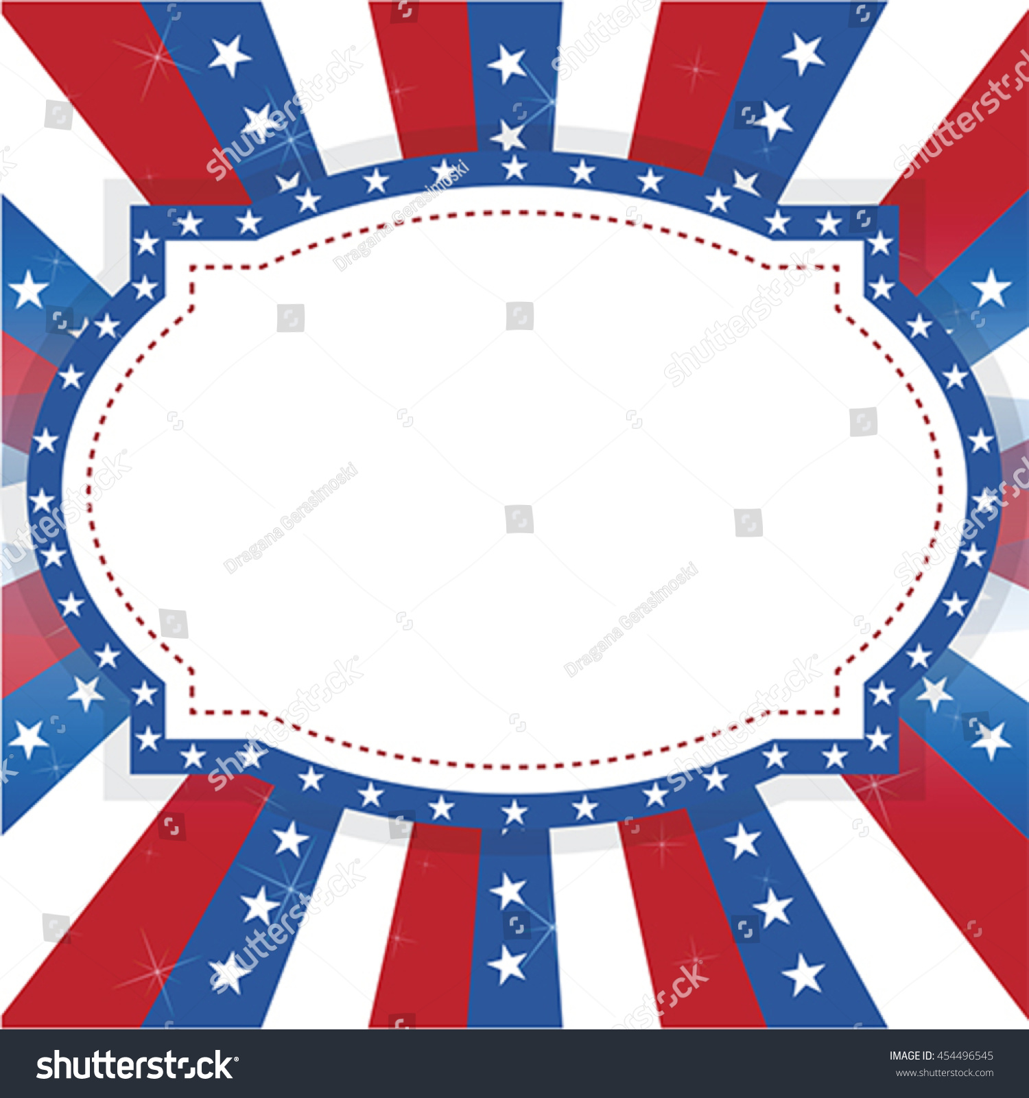 American usa greeting holiday vote card stock vector 454496545 american usa greeting holiday and vote card background vector kristyandbryce Images