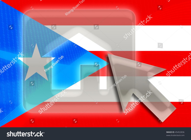 Puerto rico national symbols gallery symbol and sign ideas flag puerto rico national country symbol stock illustration flag puerto rico national country symbol stock illustration buycottarizona