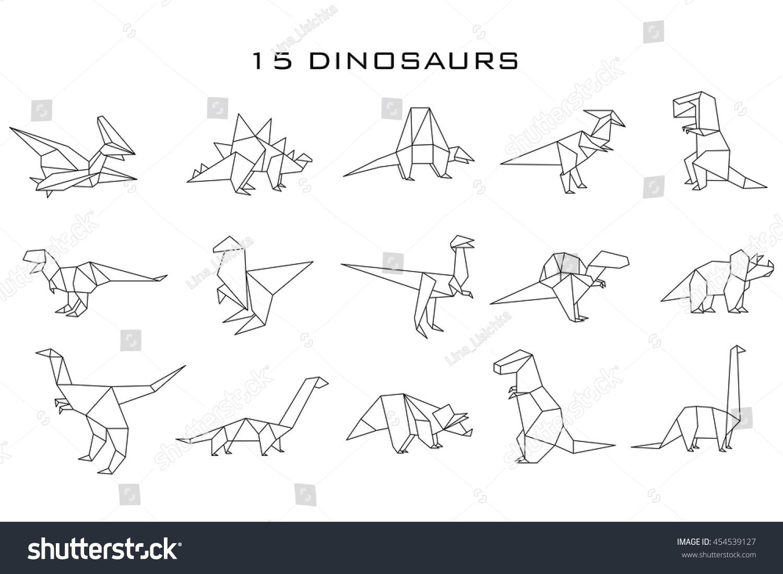 Origami Dinosaur Brontosaurus