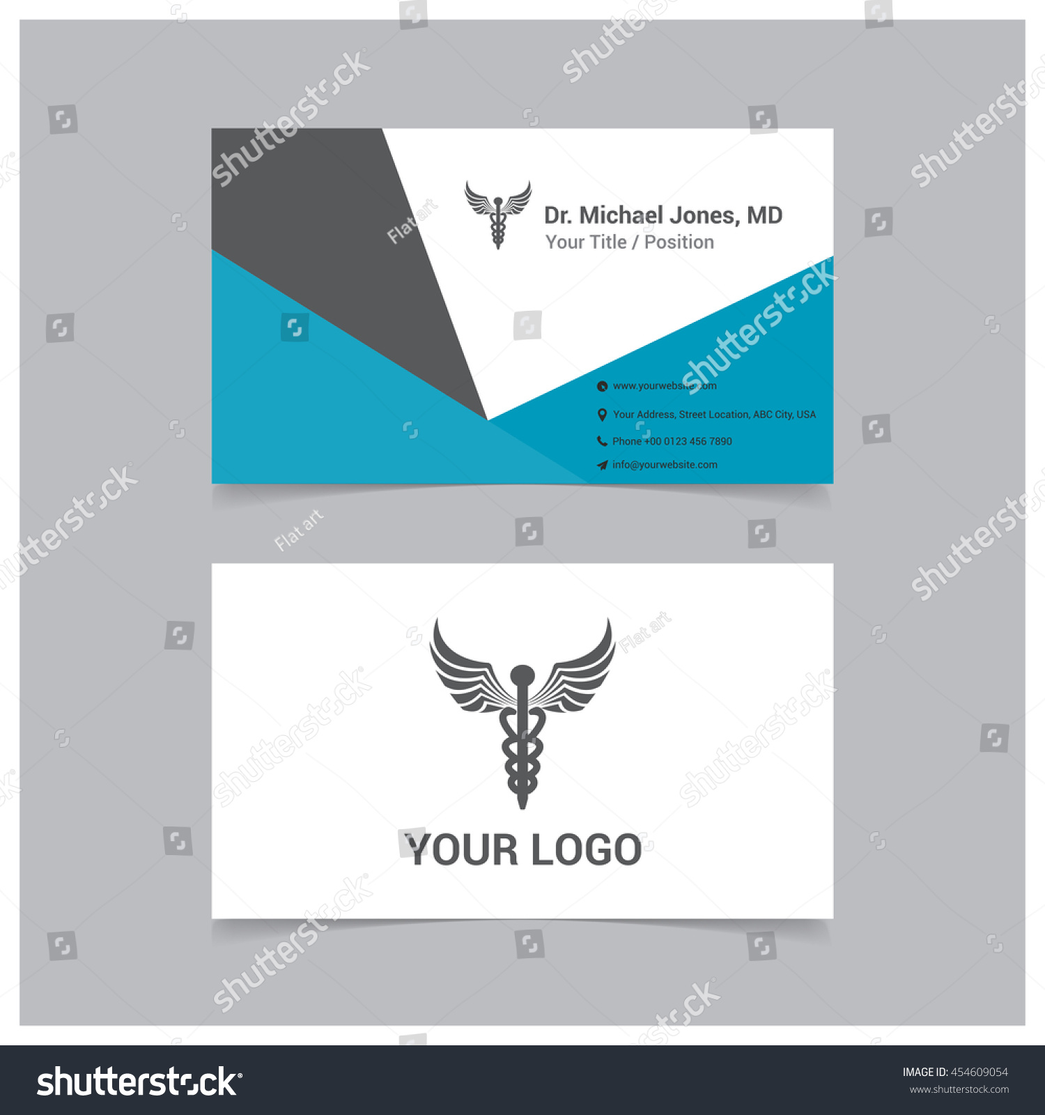Creative Doctor Business Card