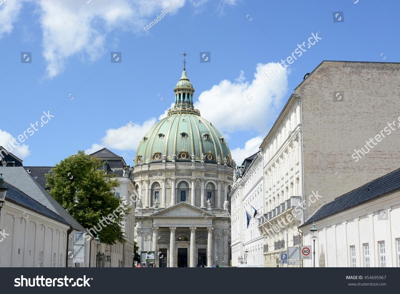 copenhagen denmark july 13 2016 frederiks church also known as the