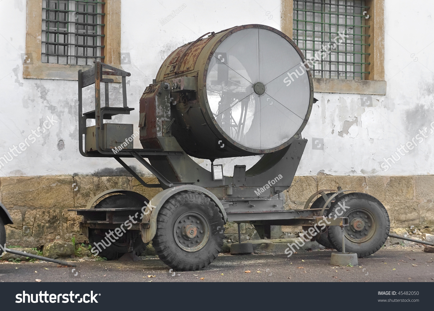 Old World War 2 Carbon Arc Stock Photo (Royalty Free) 45482050 ... for Carbon Arc Searchlight  588gtk