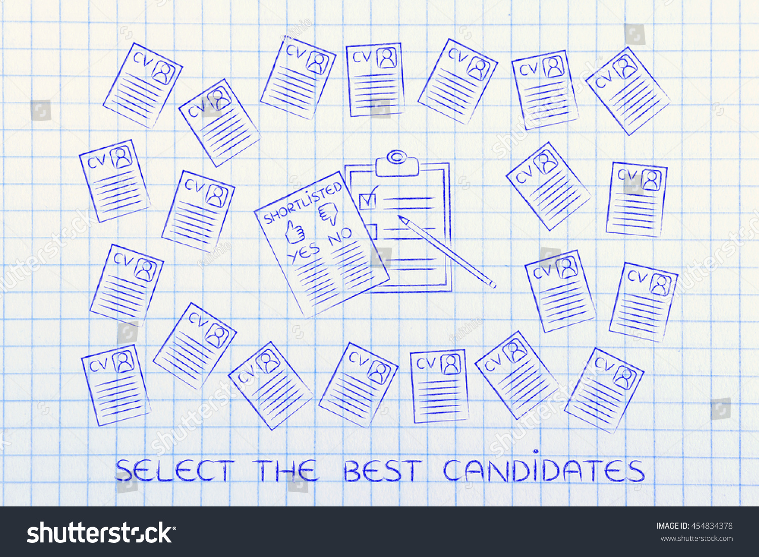 How To Shortlist Resumes. skills loading cv and shortlist of ...