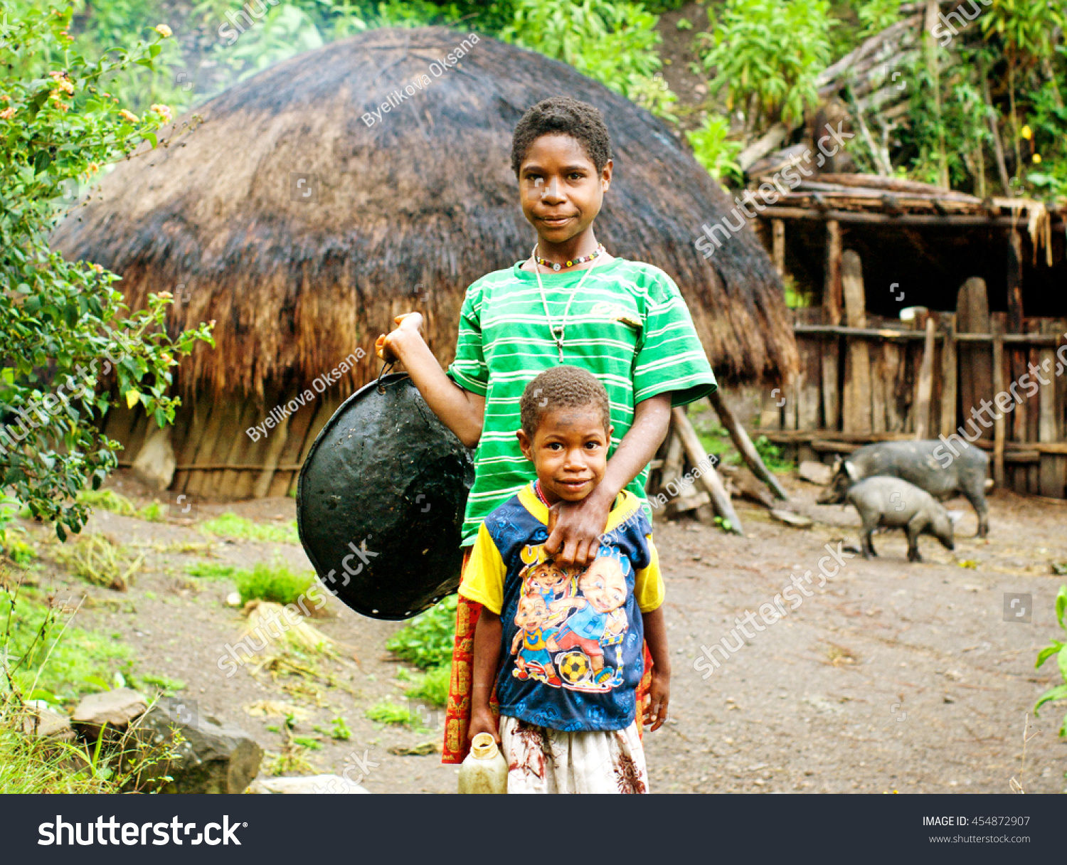 Papua Province Indonesia Circa January 2011 Stock Photo 454872907  Shutterstock