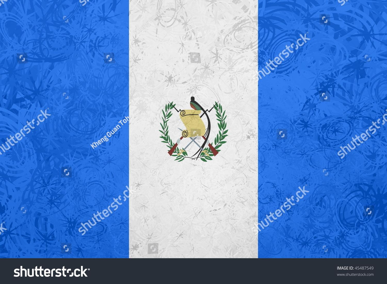guatemala grunge flag by - photo #16