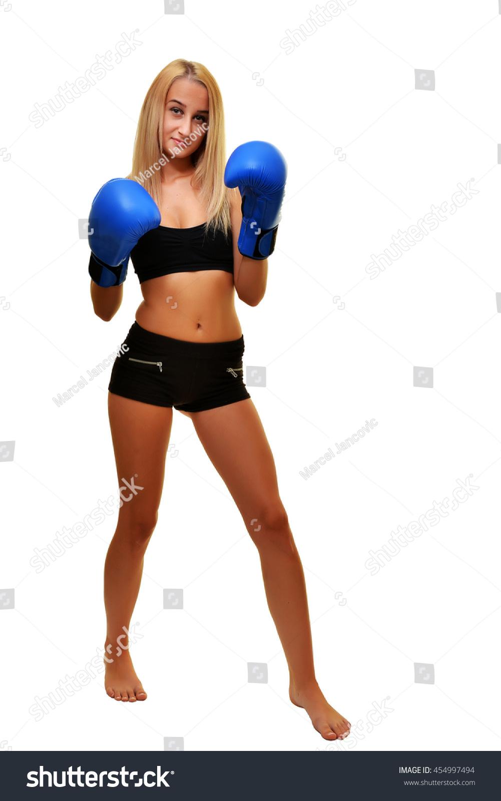 Sexy ladies boxing