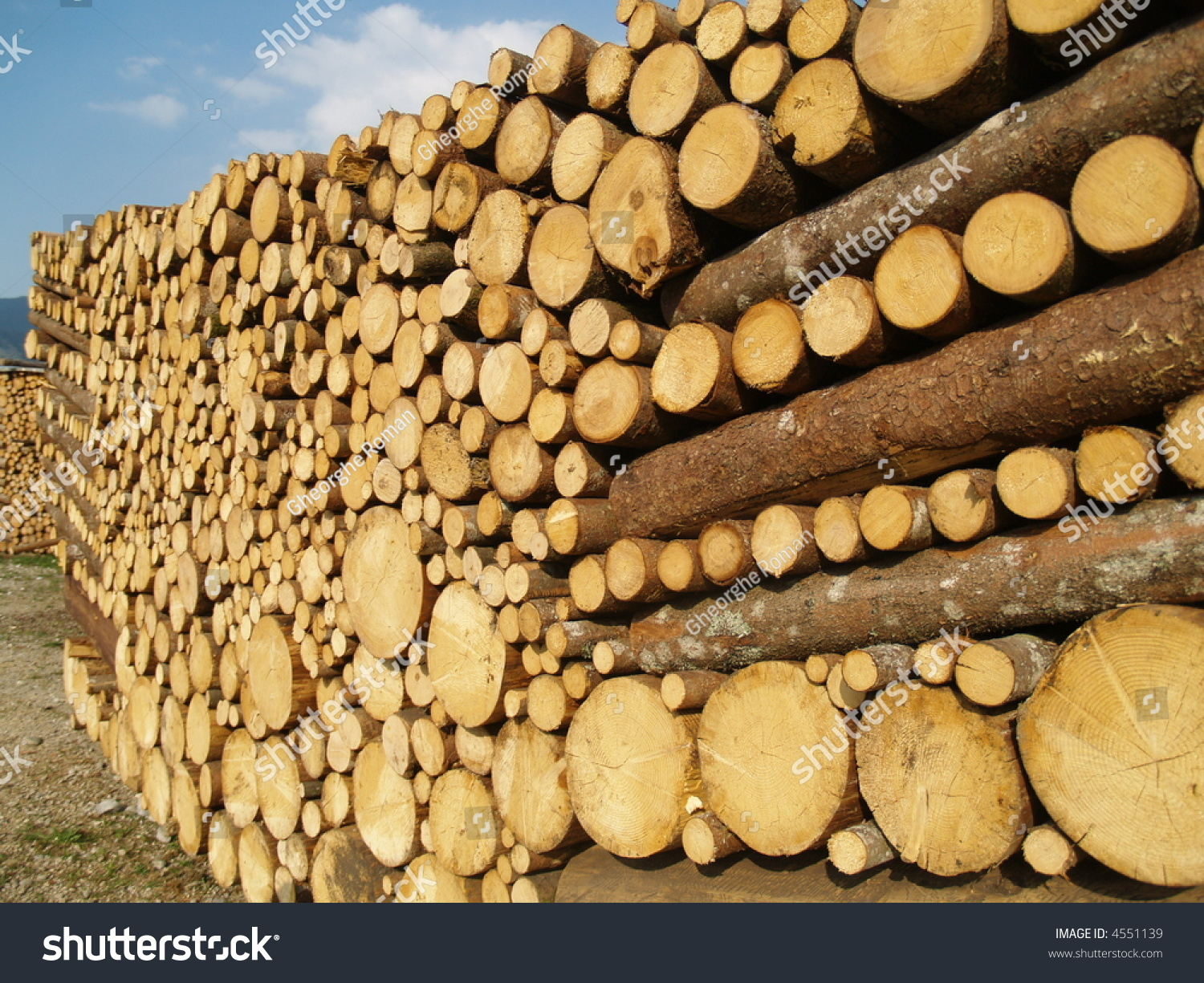 Pile of a nice lumber stock photo  shutterstock