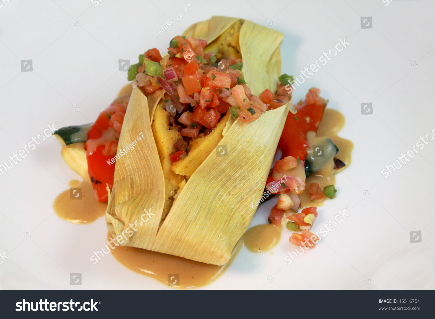 Vegetarian Meals At A Fine Dining Resturant Stock Photo 45516754 Shutterstock