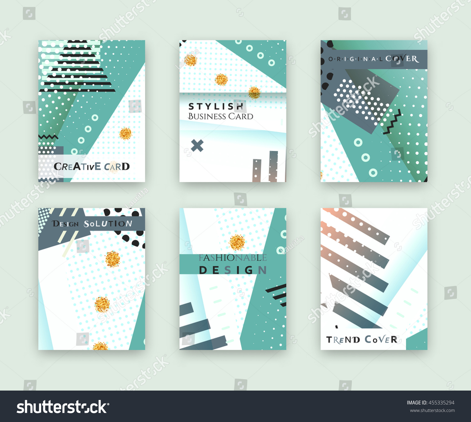 Fashionable original cover stylish business card stock vector stylish business card design template bright solution creative frame surface magicingreecefo Gallery