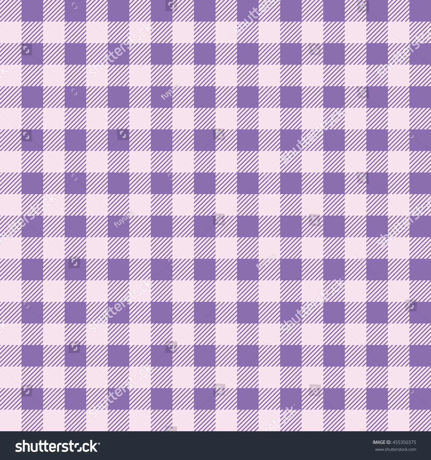 Charmant Plaid Kitchen Tablecloth Pattern With Vintage Purple Color. Seamless Pastel  Geometric Square Checkered Fabric Pattern